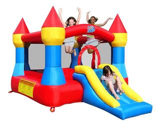 Castillo Saltarin Inflable 365x265x215cm Navidad Niños