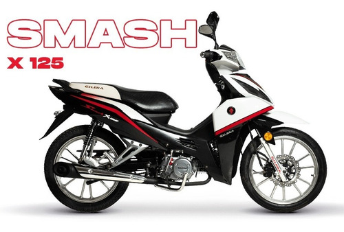 Gilera Smash 125 X  Nuevo Modelo Ahora 12/18 Moto Baires