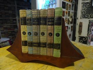Conjunto De Mini Livros Com Estante Para Decoração