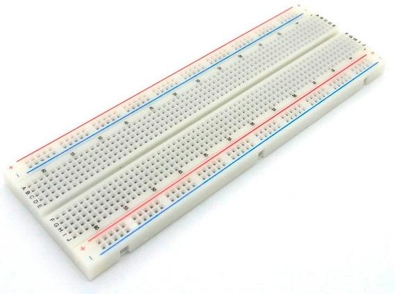 Protoboard Breadboard 830 Pontos Furos