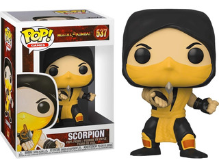 Funko Pop Mortal Kombat Scorpion 537 Nuevo Original