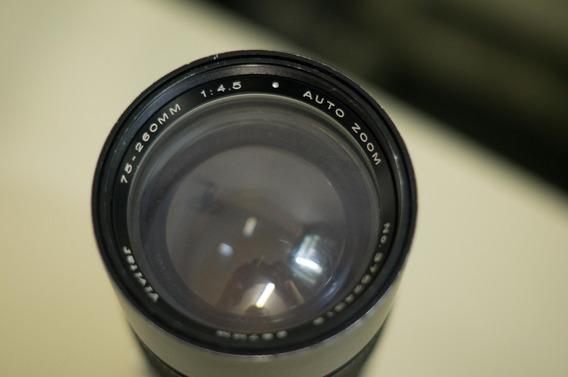 Lente Vivitar P/olympus 75-260mm