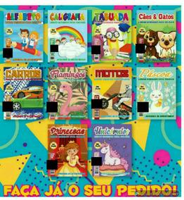 200 Revistas De Colorir,pintar E Atividades.