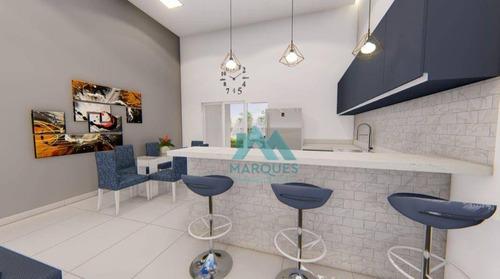 Imagem 1 de 22 de Casa Com 3 Dormitórios À Venda, 150 M² Por R$ 750.000,00 - Terras Do Vale - Caçapava/sp - Ca0457