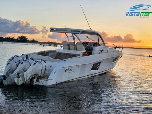 Lancha Fishing 39 Saint Tropez Com 3 X Evinrude - Impecável