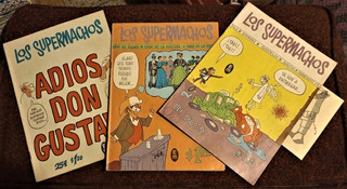 Rius - Los Supermachos: Sep Y Oct Del 68, Y Nov Del 70