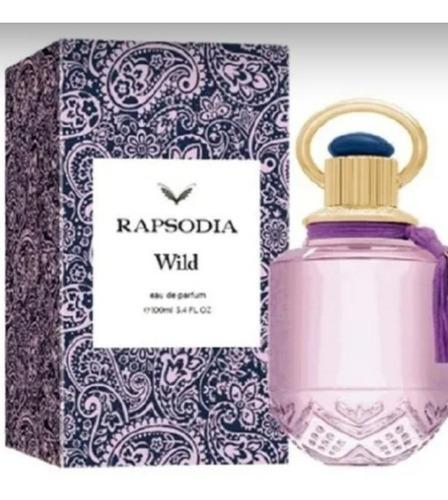 Imagen 1 de 3 de Perfume Rapsodia Wild X 100 Ml Original