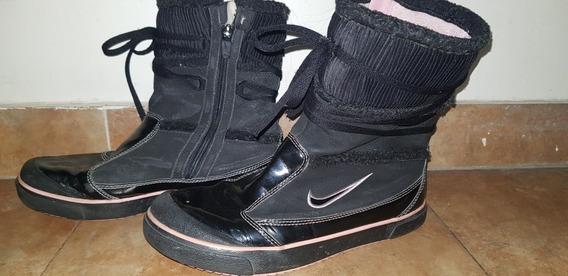 Botas Nike Negra Talle 37