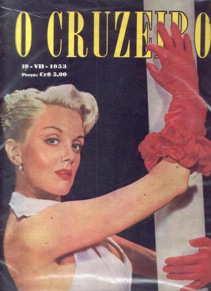 O Cruzeiro 1953.canto Do Rio.nova Esperança.banco Da Bahia.