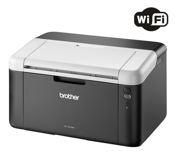 Impressora Laser Mono Wireless Hl1212w Brother