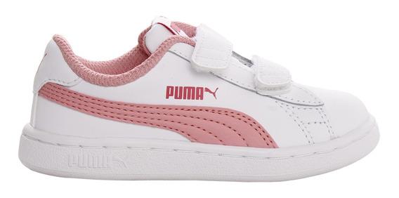 Zapatillas Puma Moda Smash V2 L V Inf Bebe Bl/rs