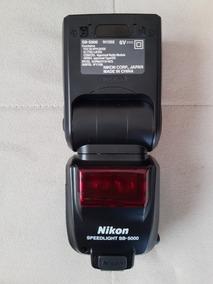 Flash Speedlite Nikon Sb 5000 Semi Novo