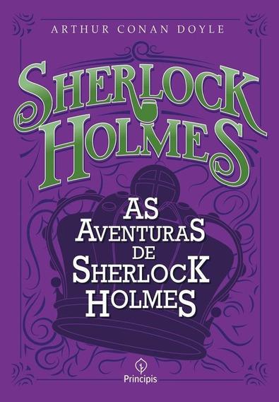 As Aventuras De Sherlock Holmes - Livro - Arthur Conan Doyle