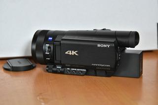 Videocámara Profesional Sony Fdr, Ax100 4k,