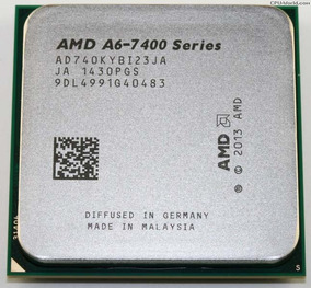 Processador Fm2 A6 7400k 3.9ghz +apu Radeon R5 Com Cooler