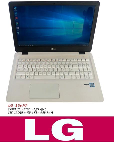 Notebook Lg15u47 I5 2,71ghz Ssd120gb Hd 1tb 8gb Ram 7ºger.