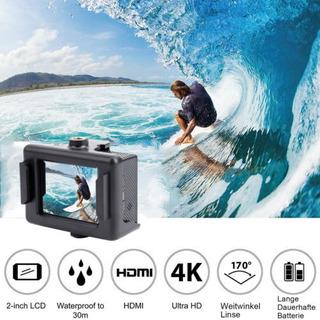 4k 16mp Ultra Hd 1080p Acción Deporte Cam Cámara Casco Video