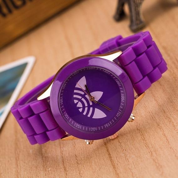 Relógio adidas Feminino Diversas Cores Colorido Roxo