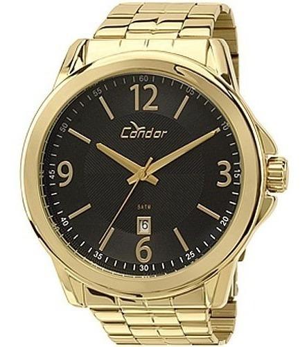 Relógio Dourado Masculino Condor Co2115vn/4p Original