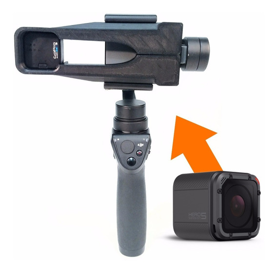 Adaptador Para Usar Gopro Session No Dji Osmo Mobile