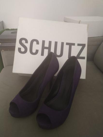 Sapato Schutz Roxo 35