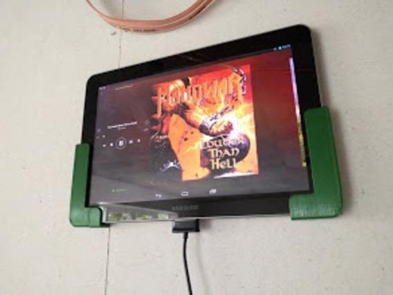 Suporte De Parede Para Tablet iPad Lateral 1.1 Cm