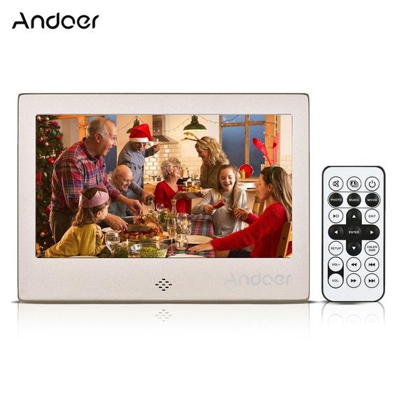 Andoer 7 &qu?led Digital Photo Nos Ouro