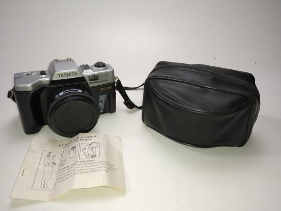 Câmera Yashica 2000n + Capa E Manual