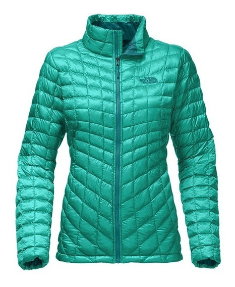 Parka The Northface W Thermoball Jacket - Mujer S Green