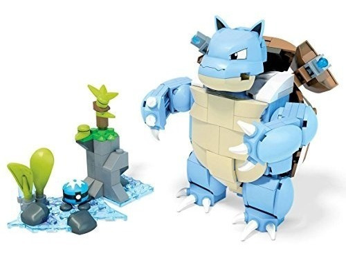 Mega Construx Pokémon Juego De Construcción Blastoise