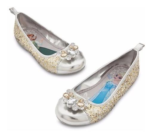 Sapato Frozen Anna E Elsa Disney Disney Store Tam 30