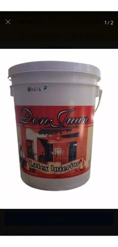 Latex Don Juan X 4 Lts Interior Ferreteria Tigrr