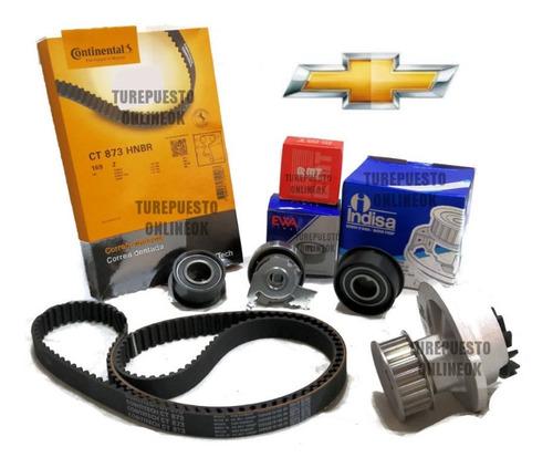 Kit Distribucion + Bomba Chevrolet Corsa  1.6 16 Valvulas