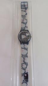 Relógio Pulso Swatch Black Sheep 1994 Sem Uso Unisex Raro