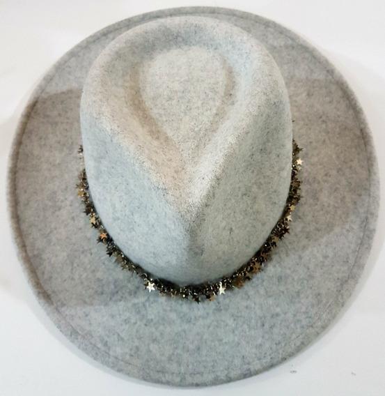 Sombrero Prune De Lana Original Gris