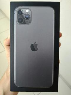 Caixa Vazia iPhone 11 Pro Max, Space Gray, 64gb Sem Manual