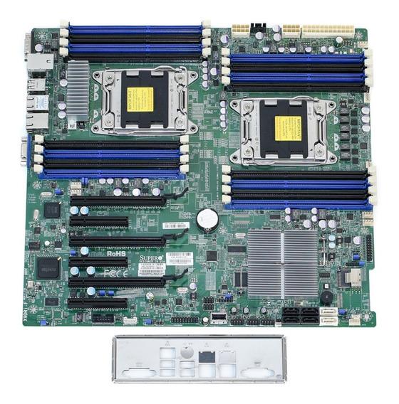 Placa Mãe Supermicro X9dri Dual Xeon E5-2600 V1 V2 Ddr3 Ecc