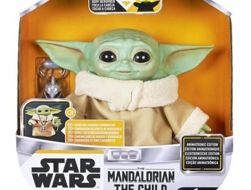Baby Yoda Animatronic Star Wars C/ 25 Sonidos Original Stock