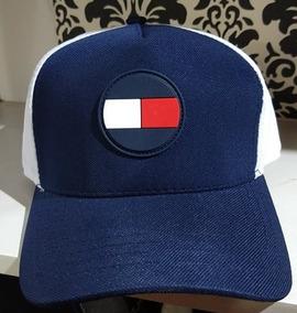 04d980fd58 Gorra Lona Tommy Hilfiger Visera Curva F Azul - Ajustable