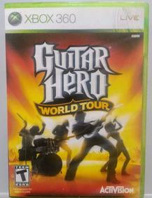 Guitar Hero World Tour - Xbox 360 - Usado - Requer Guitarra