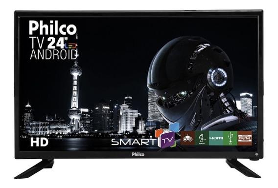Smart Tv Led Philco Hd 24 Polegadas Ptv24n91sa Pix90
