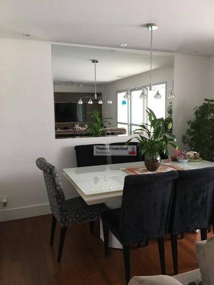 Lauzane Paulista - Zn/sp - Apartamento 3 Dormitórios,1suíte,2 Vagas Com Varanda Gourmet - Rs 830.000,00 ( Aceita Permuta) - Ap6272