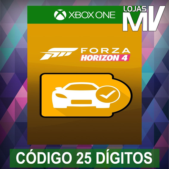 Passe De Carros Do Forza Horizon 4 Codigo 25 Digitos Xbox