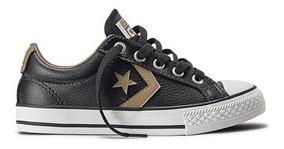 Tênis Converse Cons Star Player Ev Ox Preto Original.