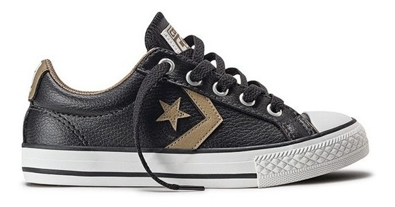 Tênis Converse Cons Star Player Ev Ox Preto Original.