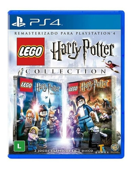 Jogo Lego Harry Potter Collection Ps4 Mídia Física Original