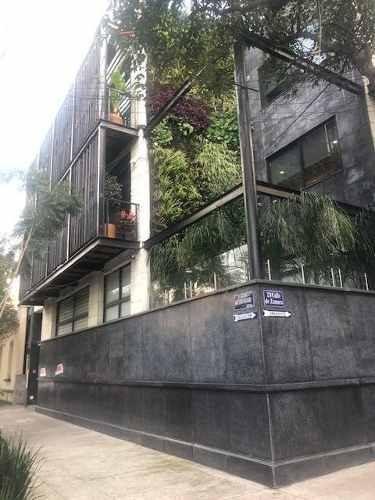 Condesa, Excelente Departamento En 2 Niveles Y Roof Garden