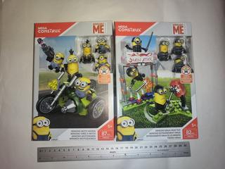 Minions Ninja Practice & Moto Mania Mega Construx 82 Piezas