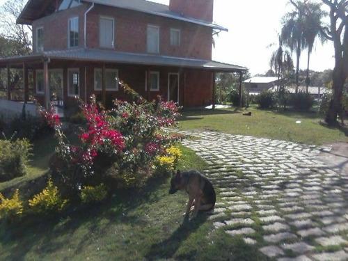 Imagem 1 de 30 de Chácara Com 20.000m De Terreno No Condomínio Jardim Dos Laranjais - Ch00415 - 69029326