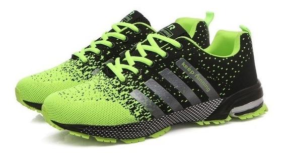 Tênis Unissex Training Esporte Keep Runing (frete Grátis)
